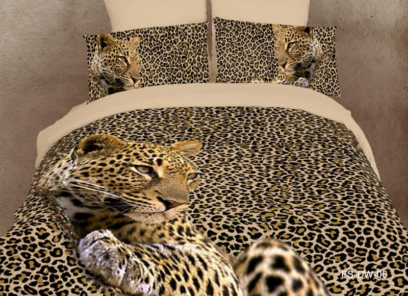 3d leopard animal print bedding sets queen size bedspreads duvet cover bed in a bag sheets - Cheetah print queen comforter set ...