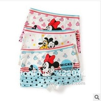 Free shipping 2013 new Dis/Min/kt/dot/boxer girls panties