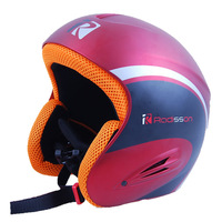 Hot Products 1pcs ABS integrally molded veneer double-plate professional ski helmets Ski helmets protective helmets