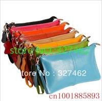 Hot Selling Women Genuine Leather Handbag Mango Women Coin Purse Clutch Bag Dress Party Evening Elegant Women Messenger Bag