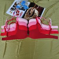 Classic Design Basic Style One piece seamless 75b women's push up sexy bra