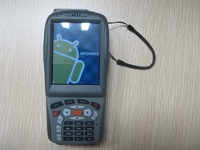 Low cost Android 2.3.7 OS Rugged handheld data collector with RFID reader and 1D infrared(CCD) barcode scanner(MX8800A)