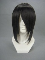 "Ash-Sebastian Michaelis Costume Pretend Play Wig 10"" (Black)"