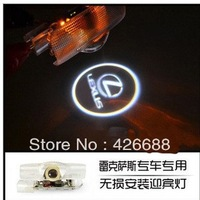 Factory Promotion 2013 new generation led car door logo led welcome light for Lexus original ,easy to install