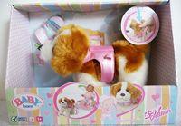 hsb-toys Zapf creation baby born plush puppy toy bulk