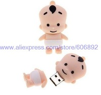 Retail genuine 2G/4G/8G/16G/32G baby style flash drive cute stitch pen drive silicone usb flash drive Free shipping