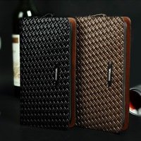 Men's woven leather handbag new business hand bag high quality handbags 2013 fashion handbag designer handbags high quality