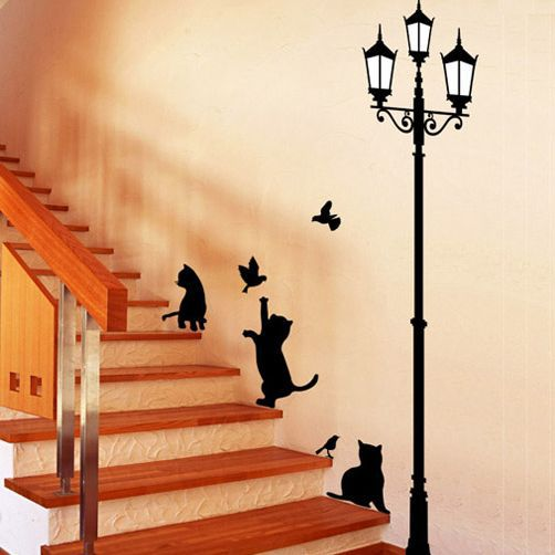 Home Decor Decals we do disney disney wall decal bm544 quote wall decal vinyl wall sticker home decor Free Shipping Popular Ancient Lamp Cats And Birds Wall Sticker Wall Mural Home Decor Room Kids Decals Wallpaper
