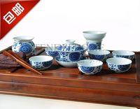 11pc  qinhua ceramic  cup tea  set
