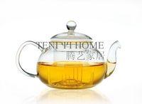 Heat resistant glass flower pot single pot 475ml teaports glass teapot glass tea set