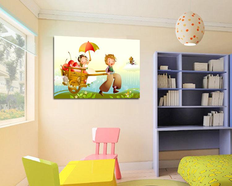 Online kopen wholesale kinderkamer schilderij uit china kinderkamer schilderij groothandel - Kamer schilderij ...