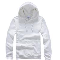Solid color lovers loose plus size heat transfer pullover with a hood sweatshirt blank loop pile thin sweatshirt