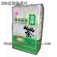 100 bags 2014 Spring laoshan natural organic matcha green tea  leaves powder bags extract longjing sunshine tea dragon well