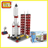 LOZ diamond blocks models&building toys educational enlighten bricks for children 8 years old free shipping  space port police