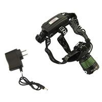 1800lm CREE XM-L XML T6 LED Zoom Headlamp Adjustable Headlight Flashlight Bicycle Bike Light Wholesale Factory Outlet Dropship