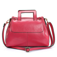 Fashion handbag cross-body women's handbag sweet gentlewomen candy genuine leather women's handbag formal elegant