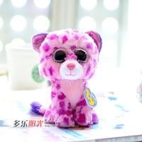 Ty symphony big eyes doll leopard plush toy chigoes gift