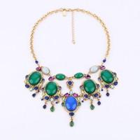 Fashion fashion necklace accessories gem jewelry pendant women's necklace accessories