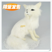 Arctic fox quality rabbit artificial fox fur charm