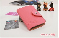 2012 genuine leather cowhide multi card holder credit card package bank card holder card case bag girl bag