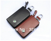 FREE SHIPPING Skoda Octavia leather key cases