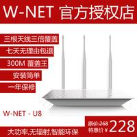 Free shipping 3 aerial 300m optical fiber household 11n vpn wireless router ap