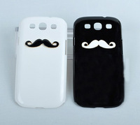 Cute Man Mustache Moushtache Case Cover for Samsung Galaxy S3 s 3 III I9300