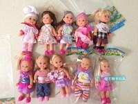 12cm Genuine German SIMBA Kelly Doll NOT pick style Children Gift 10pcs/lot