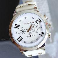 2013 Watches Men Luxury Brand Sport Leather Quartz Wristwatch Free Shipping