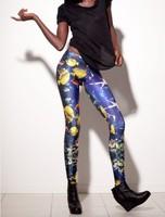 Aquarium Leggings fitness women fashion leggings 2013 New shiny Leggings Sea Fish LEGGINGS OEM Digital Print Pants K135