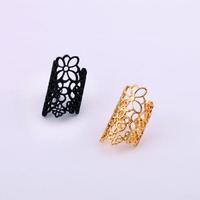 Fashion fashion accessories personality bohemia Women cutout flower ring finger ring