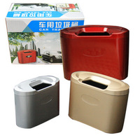 free  shipping Garbage bucket car tube garbage container car garbage bucket car glove bucket glove box