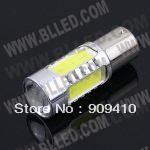 Free shipping 2pcs/lot BA20D 7.5W higt power 194 W5W 7.5W LED Reverse Light, W5W CREE Back Lamp