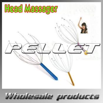 Head Neck Scalp Equipment Stress Relax Massage Massager free shipping by DHL/Fedex 1000pcs/lot