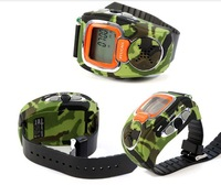 2pcs/Lot  Freetalker Walkie Talkie 2-Way Radio Digital Watch Outdoor Sport Hiking Wholesale