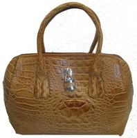 Free Shipping new crocodile skin women's fashion handbag with lock PU leather handbag designer cheap fur shoulder bags woman hot