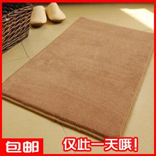 Piaochuang pad waste-absorbing doormat door bath mats derlook coral fleece carpet