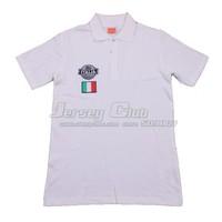 2014 Top grade quality white Italy POLO jerseys,Free shipping Italy POLO shirts