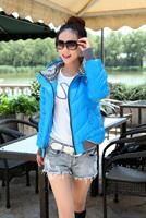 Short design fashion women's thickening winter down coat slim jacket outerwear