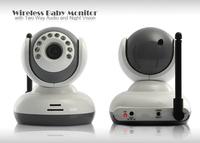 "2.4"" TFT Wireless Digital Baby Monitor IR Video Talk one Camera Night Vision video 2014 new Baby Monitor"