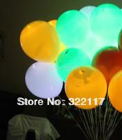 fixed led light up balloon/balloon with led light/100PCS/LOT,free shipping,dropshipping
