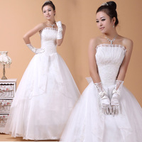 2013 Princess wedding dress quality fabric wedding dress bride dresses