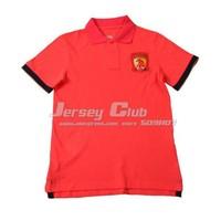 2014 Top grade quality Guangzhou evergrande POLO jerseys white,New season Guangzhou evergrande Polo shirts