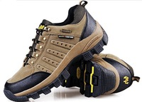 Free shipping supper quality shoes hiking men plus size EU 38-47 from manufacturer