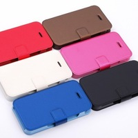 New Arrival ultrathin Leather Case For iphone 4 4S High Quality Bussiness Leather Case Cell Phone Case Shell Protector