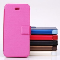New Arrival ultrathin Leather Case For iphone 5 5G High Quality Bussiness Leather Case Cell Phone Case Shell Protector 50PCS
