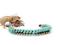 Handmade Turquoise Stone Braided Bracelet