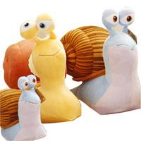 Turbo Hyper Speed 3D Movies Snail Plush Toy Dolls Snails doll birthday gift Speed snail ideas plush toys Free Shippiing