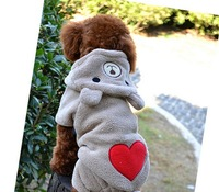 Teddy Bear pet clothes Dongkuan small quantities at a single pet dog clothes wholesale clothing