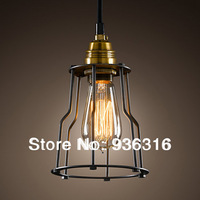 Edison Chandelier American rural countryside restaurant retro creative crystal lamps hall balcony Continental Light Chandelier